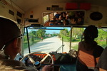 Belice,+Bus+to+Cayo+